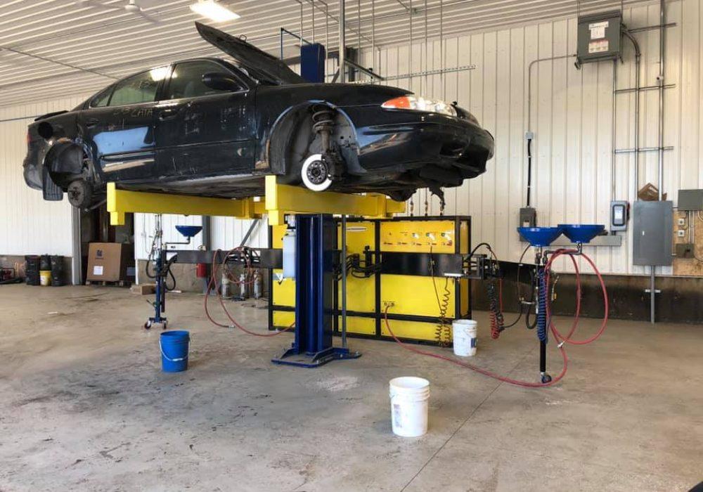 récupération des liquides autos